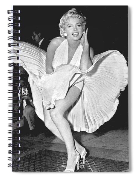 Marilyn Monroe - Seven Year Itch Spiral Notebook