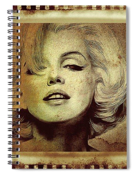Marilyn Monroe Star Spiral Notebook