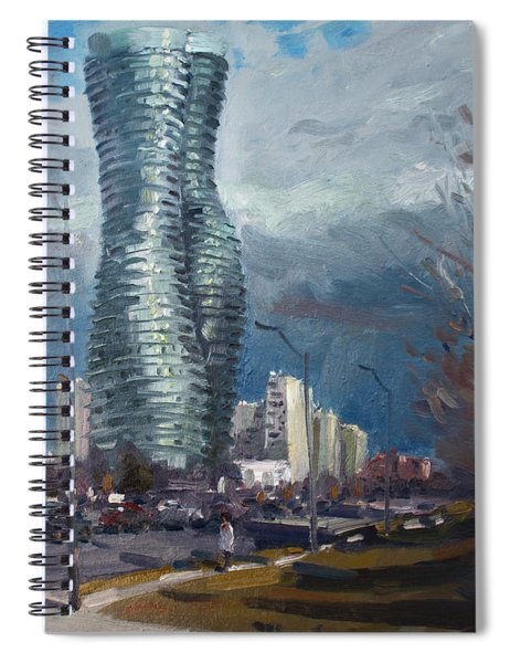 Marilyn Monroe Towers Mississauga Spiral Notebook