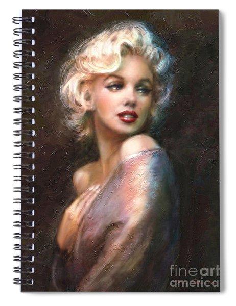 Marilyn Romantic Ww 1 Spiral Notebook