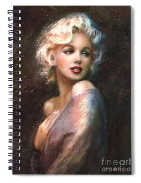 Marilyn Romantic Ww 1 Spiral Notebook