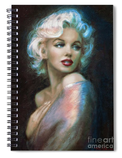 Marilyn Romantic Ww 6 A Spiral Notebook