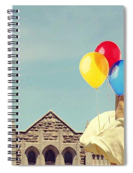 Marilyn's Balloons Spiral Notebook