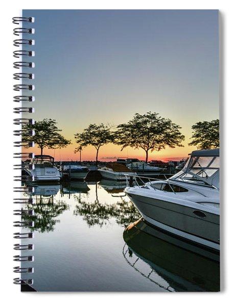 Marina Morning Spiral Notebook