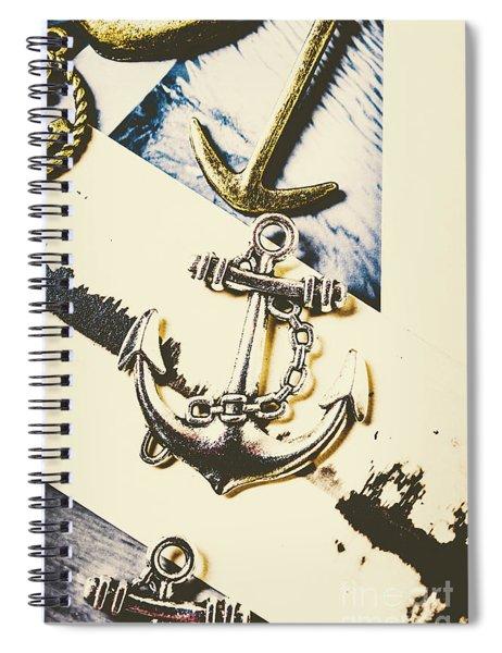 Marine Insignia Spiral Notebook