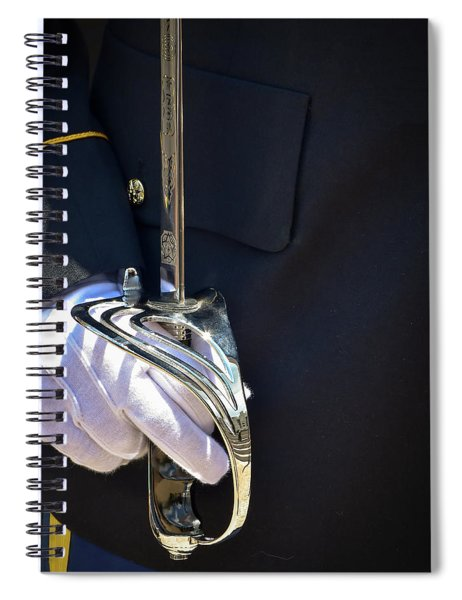 Us Army Sword Spiral Notebook