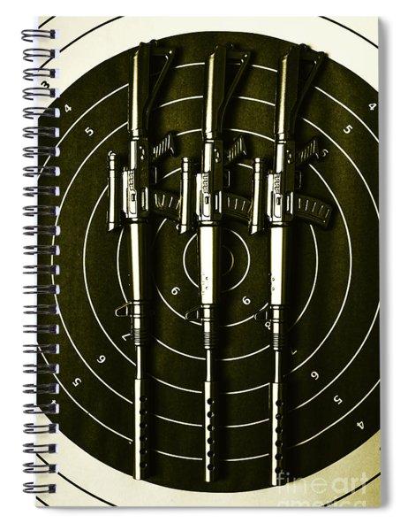Marines And Militia Range Spiral Notebook