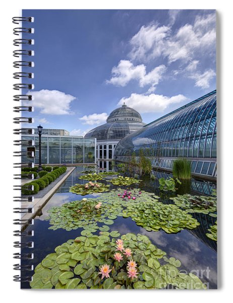 Marjorie Mcneely Conservatory At Como Park And Zoo Spiral Notebook