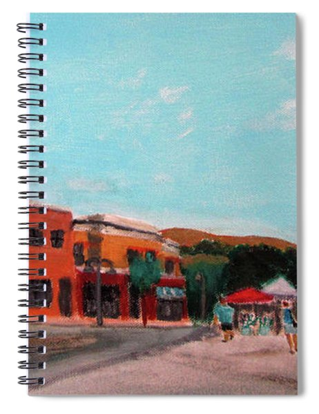 Market Day Spiral Notebook