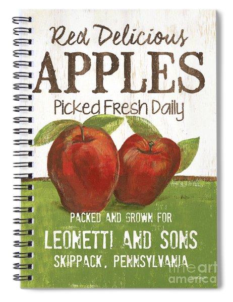 Market Fruit 2 Spiral Notebook