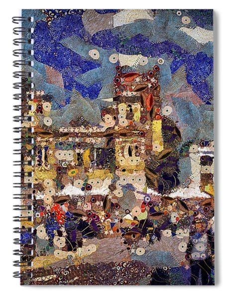 Market Square Monday Spiral Notebook