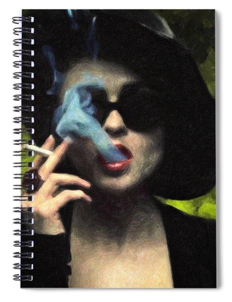 Marla Singer Spiral Notebook