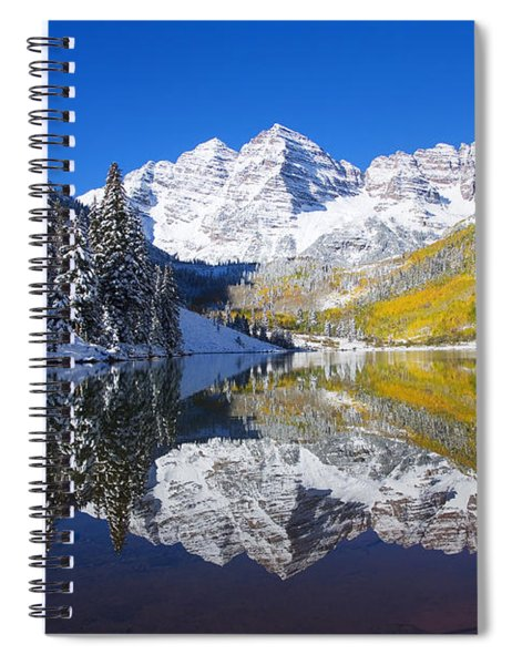 Maroon Lake And Bells 1 Spiral Notebook