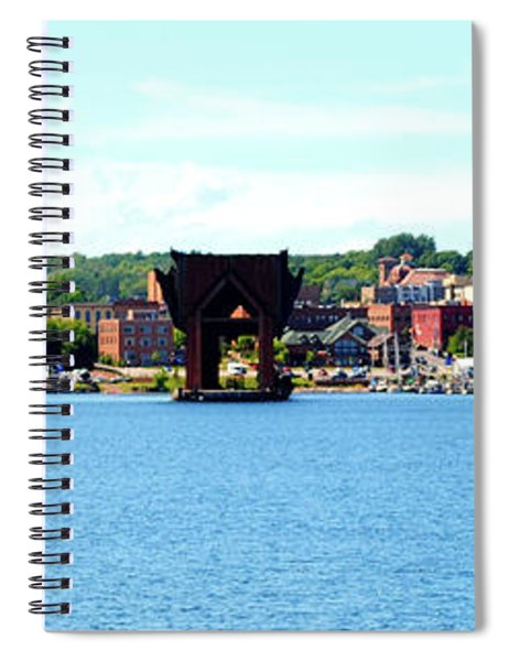 Marquette Michigan Harbor One Spiral Notebook