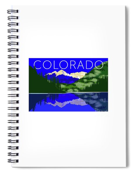 Maroon Bells Day Spiral Notebook