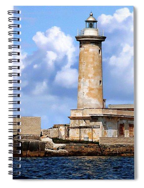 Marsala Lighthouse Spiral Notebook