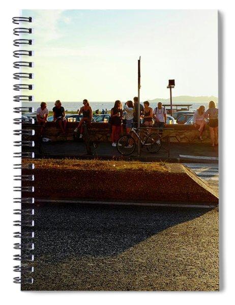 Marseille After Work Spiral Notebook