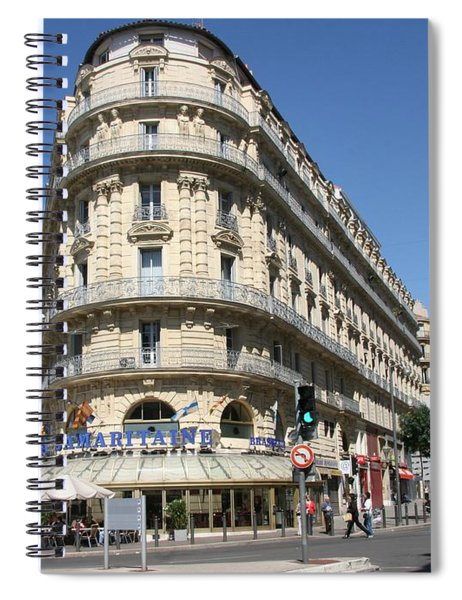 Spiral Notebook featuring the photograph Marseille, France by Travel Pics