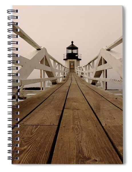 Marshall Point Fog Spiral Notebook