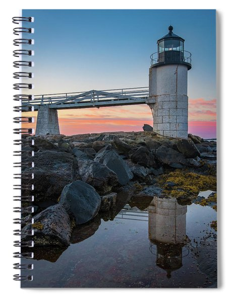 Marshall Point Reflection At Sunrise Spiral Notebook