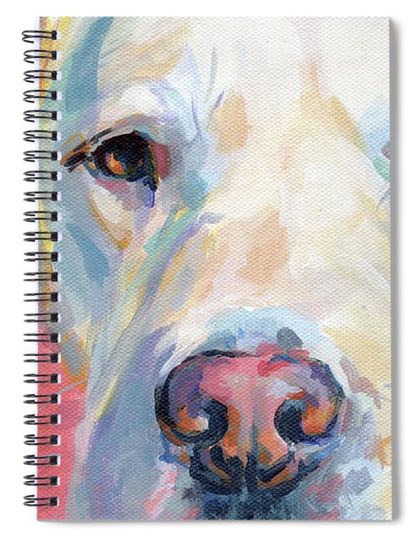 Martha's Pink Nose Spiral Notebook