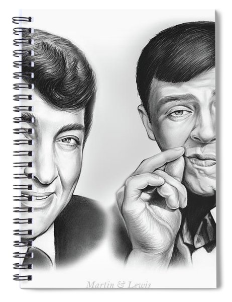 Martin And Lewis Spiral Notebook