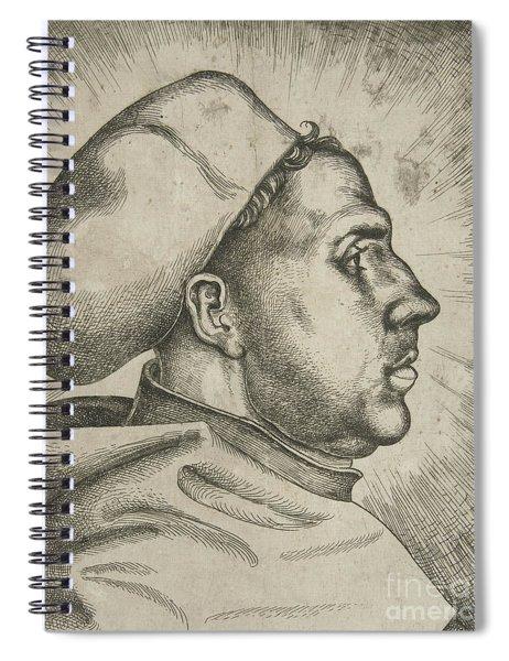 Martin Luther, 1523  Spiral Notebook