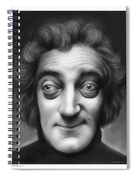 Marty Feldman Spiral Notebook