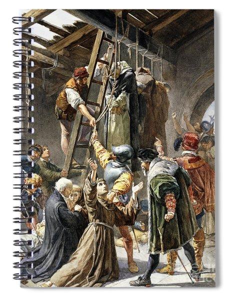 Martyrs Of Gorkum Spiral Notebook