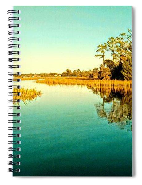 Marvelous Marsh Spiral Notebook