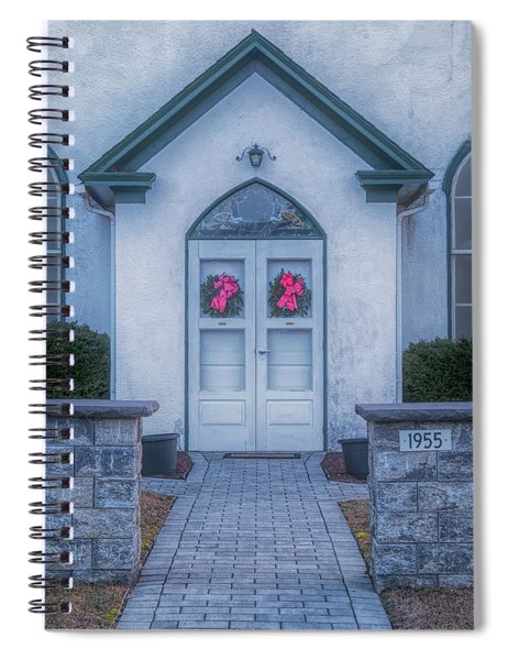 Marvin Chapel Spiral Notebook