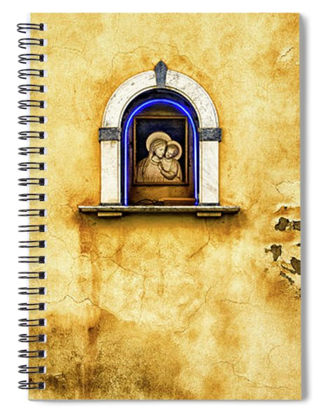 Mary And Child Spiral Notebook
