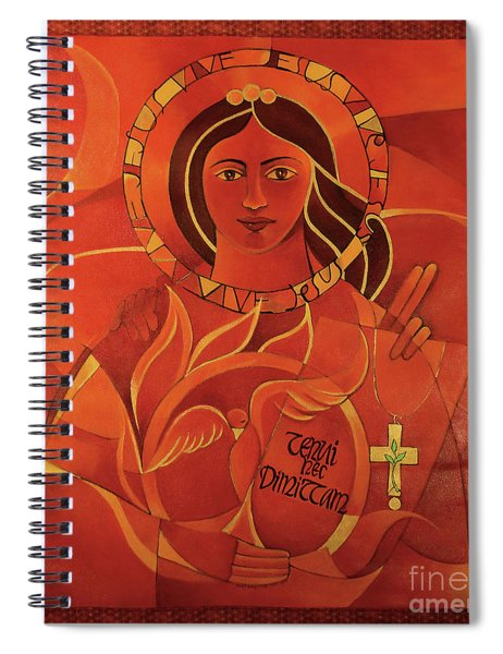 Mary, Domina Lucis - Mmmdl Spiral Notebook