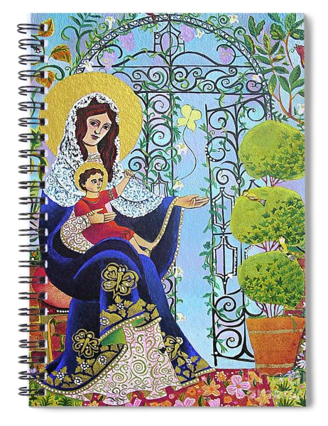 Mary, Gate Of Heaven - Mmgah Spiral Notebook