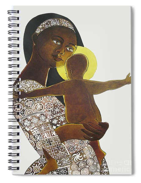 Mary, Mother Of God - Mmmgo Spiral Notebook