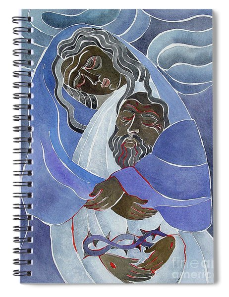Mary, Mother Of Sorrows - Mmmms Spiral Notebook