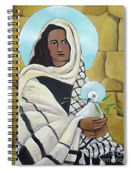 Mary, Our Lady Of Peace - Mmlop Spiral Notebook