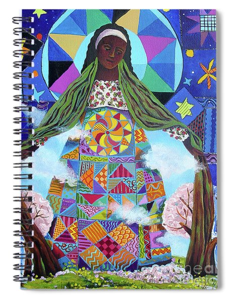 Mary, Our Lady Of Refuge - Mmmrl Spiral Notebook