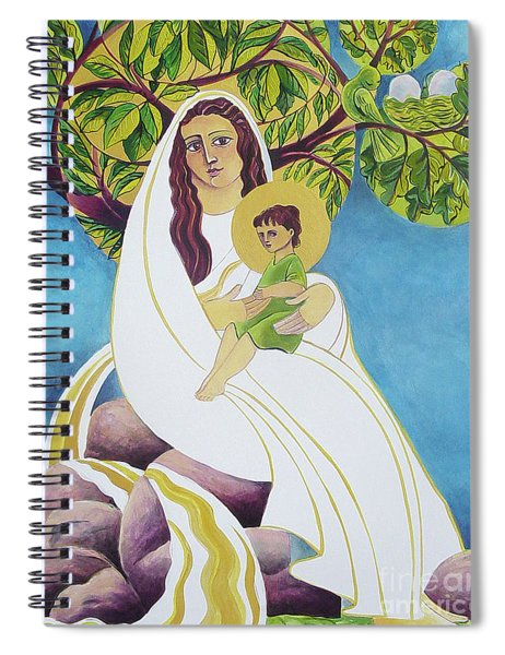 Mary, Promised Land - Mmprl Spiral Notebook