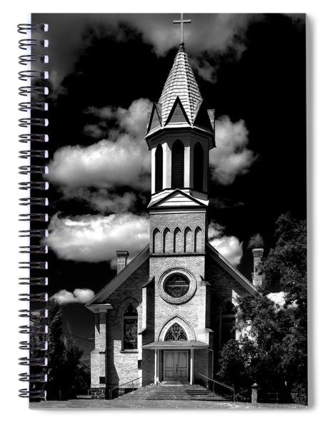 Mary Queen Of Heaven Catholic Church  Spiral Notebook