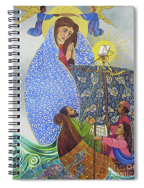 Mary, Queen Of The Apostles - Mmqap Spiral Notebook