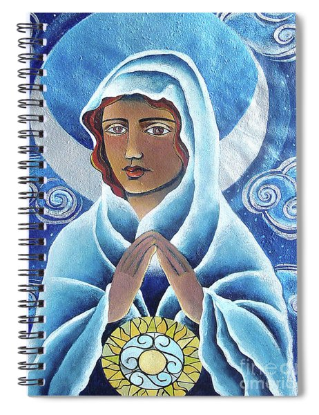 Mary, Queen Of The Prophets - Mmqop Spiral Notebook