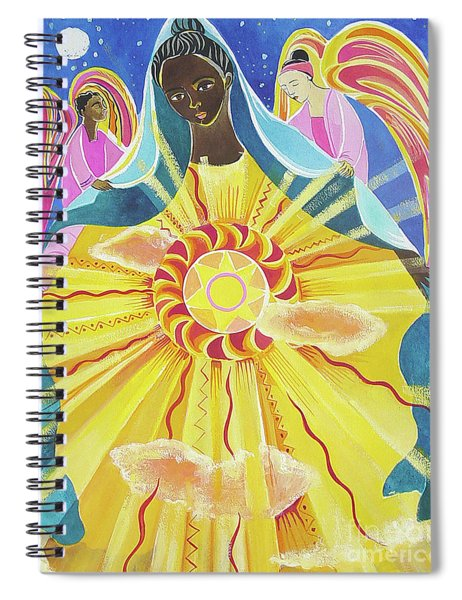 Mary, Queen Of The Universe - Mmqou Spiral Notebook