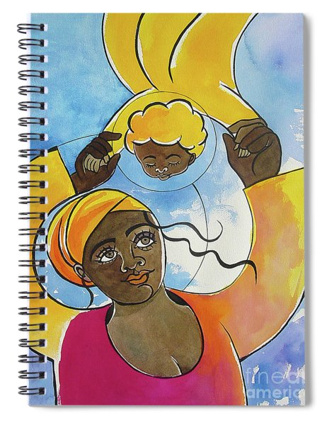 Mary, Source Of Our Joy - Mmjoy Spiral Notebook