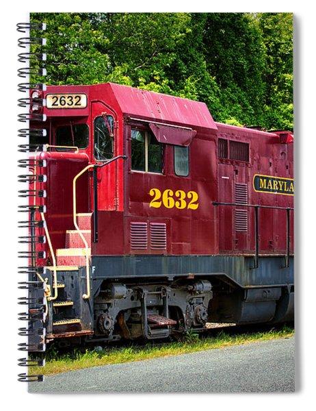 Maryland And Delaware Engine 2632 Spiral Notebook