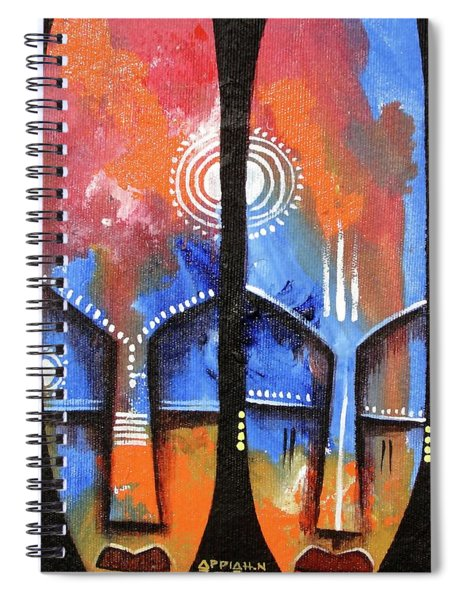 Mask 2 Spiral Notebook