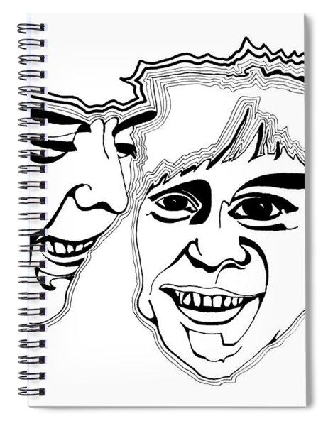 Masks Spiral Notebook