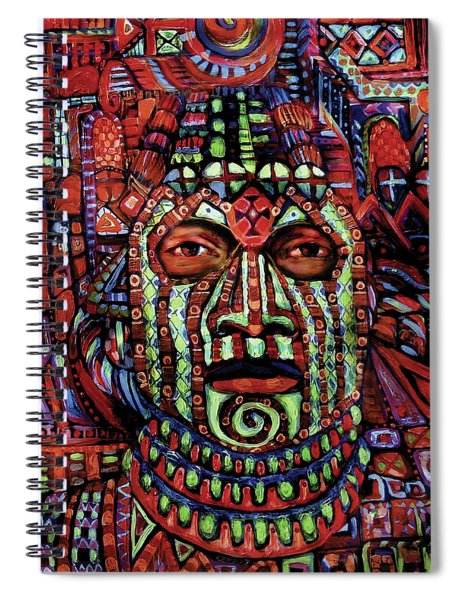 Masque Number 3 Spiral Notebook