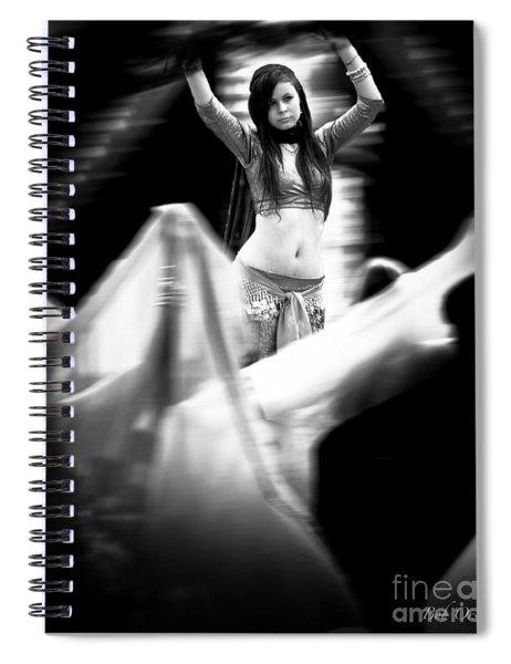 Mata Hari Spiral Notebook