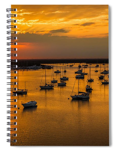 Matanzas Harbor Spiral Notebook